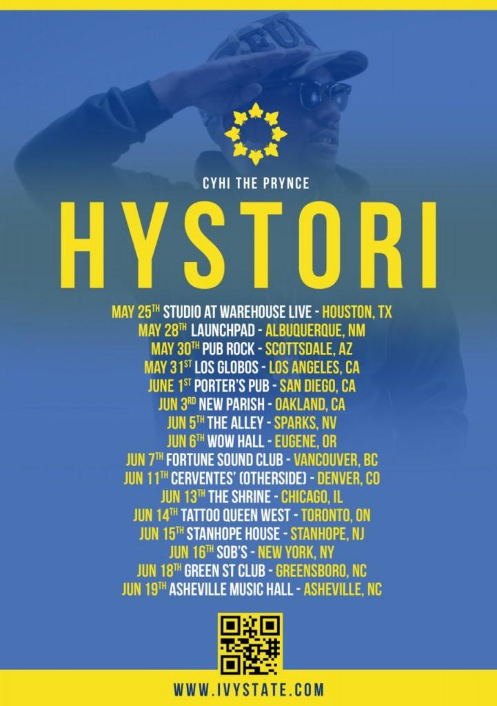 hysteri tour