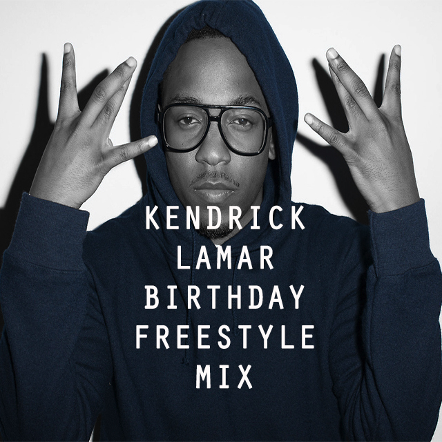 Kendrick Lamar Birthday Mix Artwork