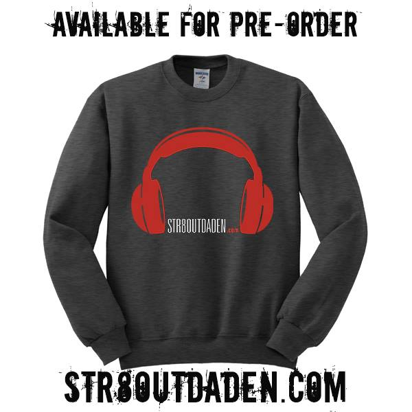 Str8OutDaDen Crewneck Sweatshirts