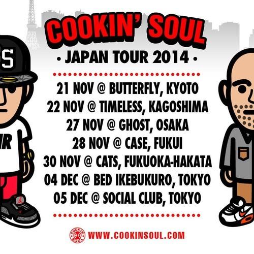 cookin soul japan tour
