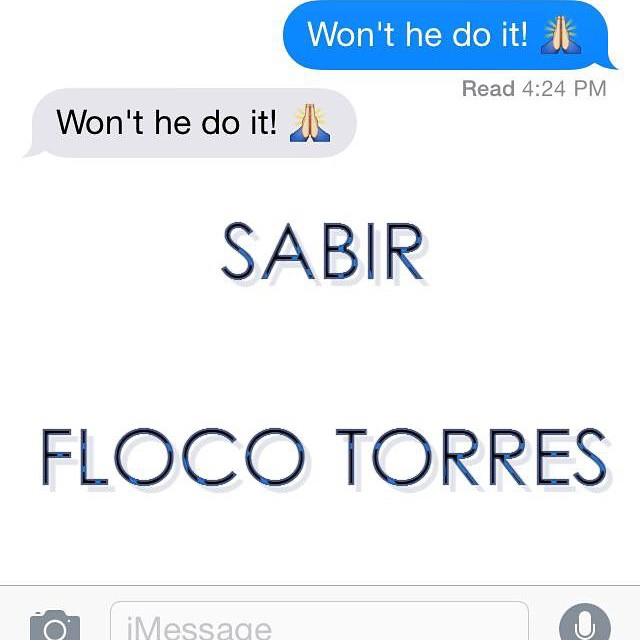 sabir wont he do it