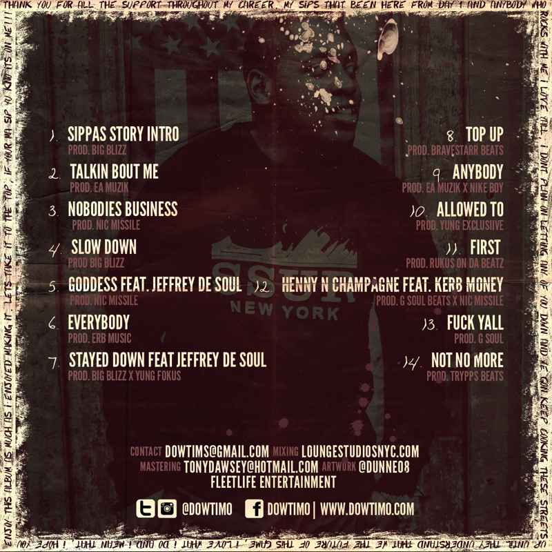 the sippas story tracklist