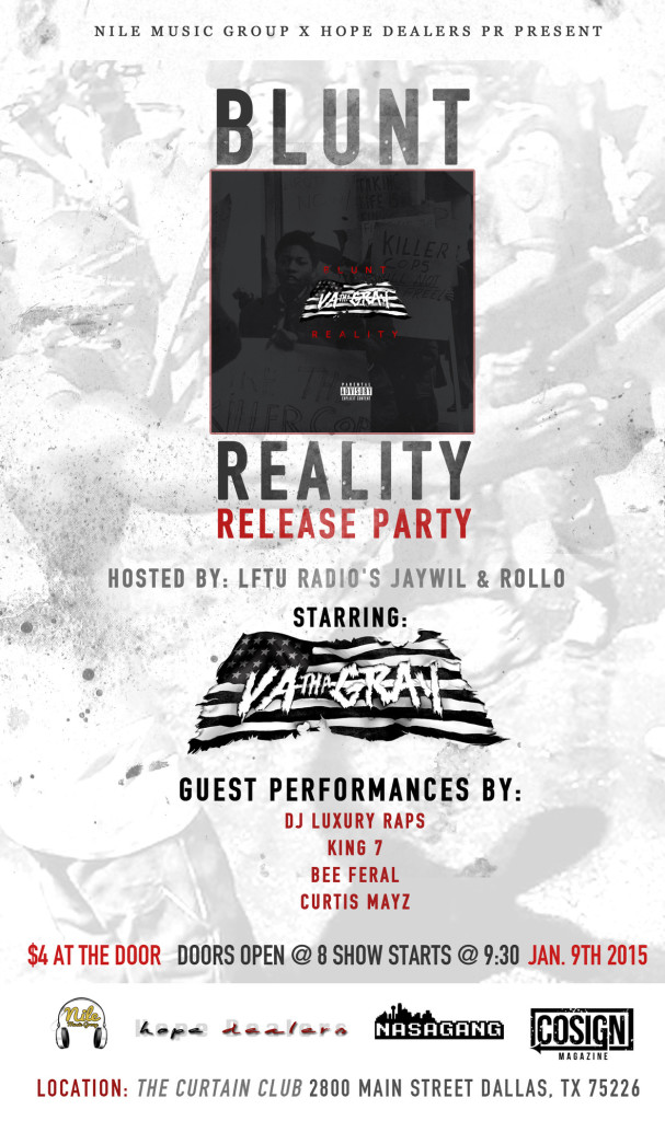 blunt reality flyer
