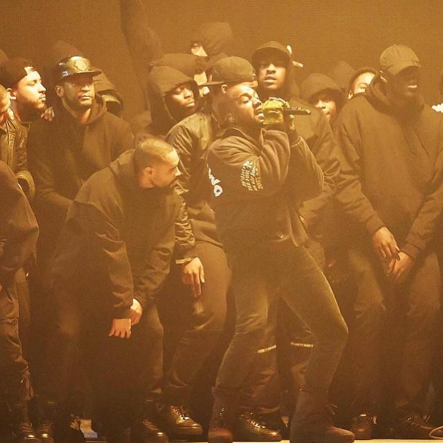 Kanye Brit Awards All DAy