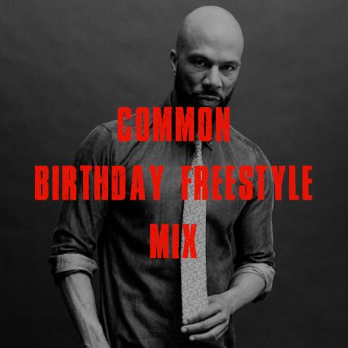 common birthday freestyle artwork