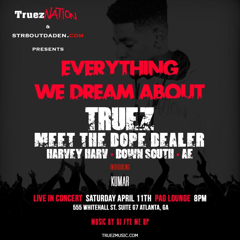 truez show flyer 2