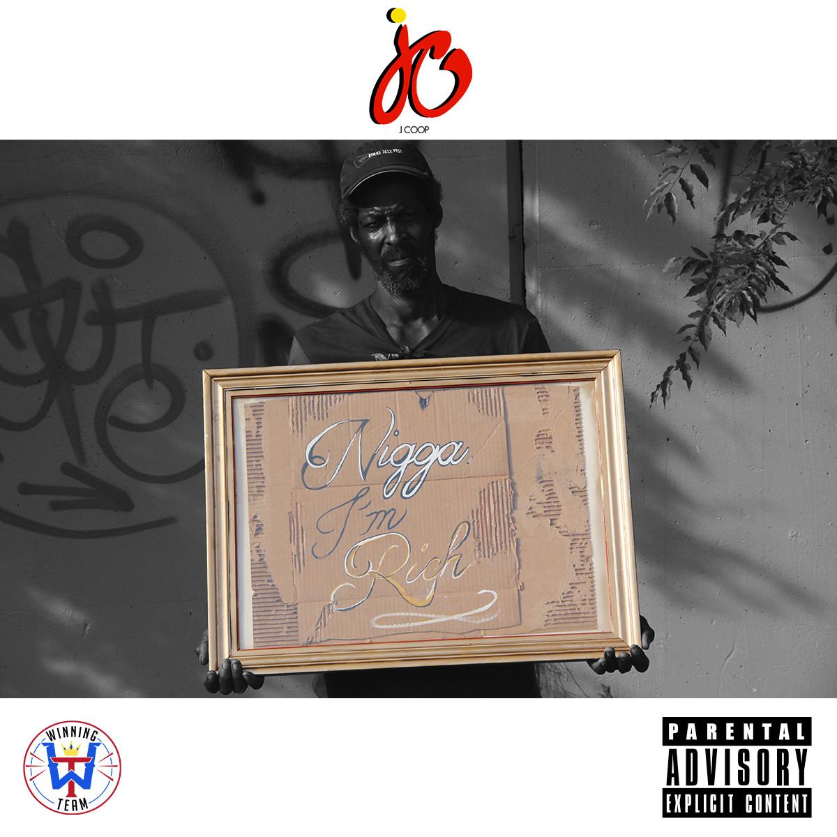 J-Coop I'm Rich Artwork