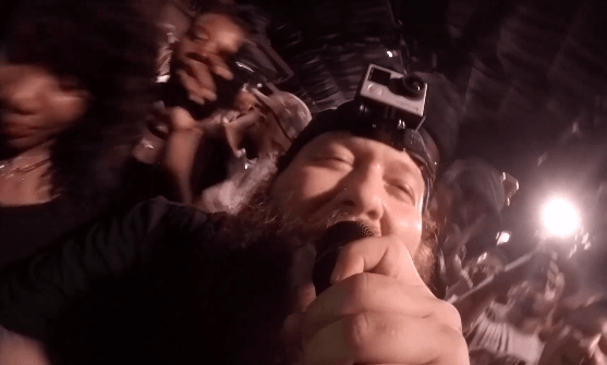 Action Bronson Performed With A GoPro On His Head