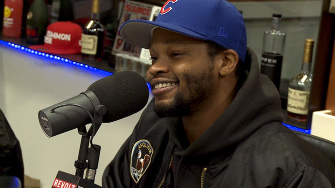 BJ The Chicago Kid Visits The Breakfast Club