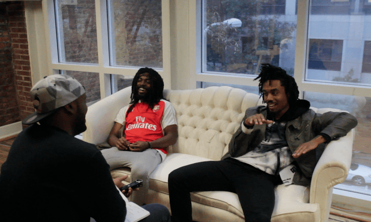 EarthGang Str8OutDaDen Podcast