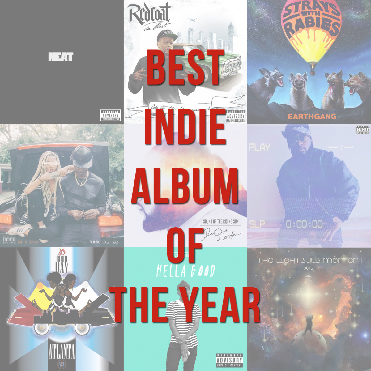 Best Indie Album Of The Year