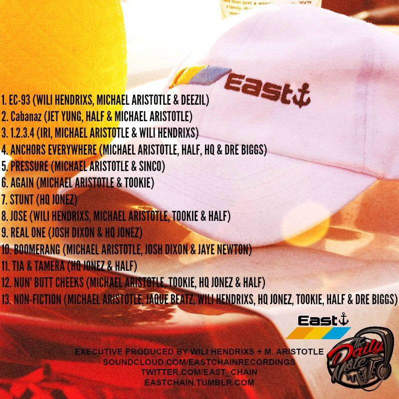 go east track list