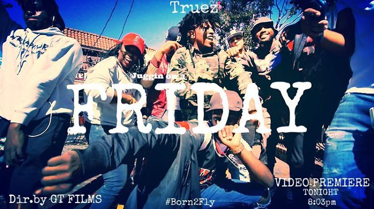 "Truez Takes Over Little 5 Points For ""FRIDAY"" Video"