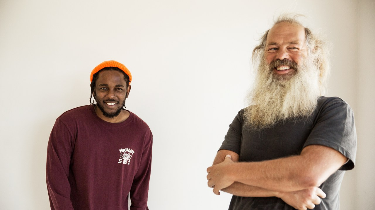 Rick Rubin Sits Down For An Intimate Conversation With Kendrick Lamar