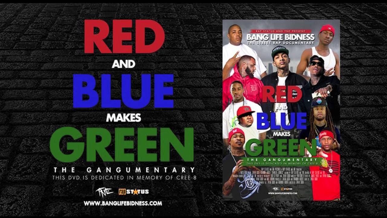 bang life bidness red blue makes green via rapstatus lostgodtne. Black Bedroom Furniture Sets. Home Design Ideas