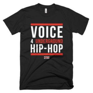 VOICE 4 UNDERGROUND Short Sleeve T-shirt