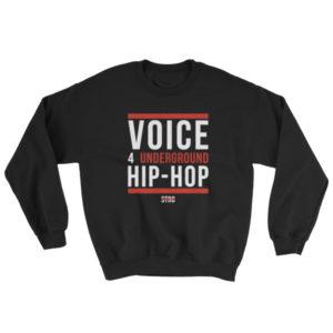 VOICE 4 UNDERGROUND Crewneck Sweatshirt