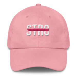 Limited Edition Pink Str8OutDaDen Dad Cap